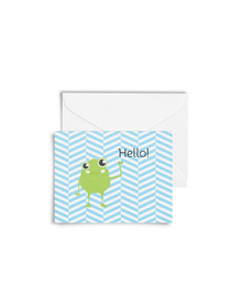 Hello, Lil' Monster Cards with Envelopes (Set of 6)
