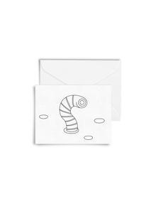 DIY Colouring Happy Insects Cards with Envelopes (Set of 4)