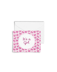 It's A Girl! Cards with Envelopes (Set of 6)