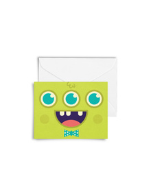 The Happy Monster Cards with Envelopes (Set of 6)