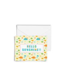 Hello Sunshine Cards with Envelopes (Set of 6)