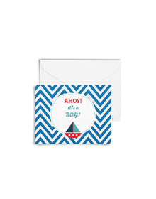 Ahoy! It's A Boy! Cards with Envelopes (Set of 6)