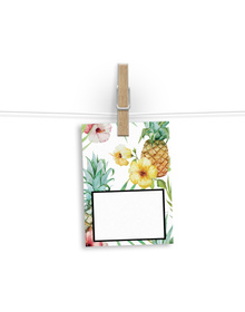 Pretty Pineapple patterned Gift Tags