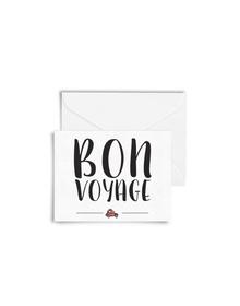 Bon Voyage Cards with Envelopes (Set of 6)