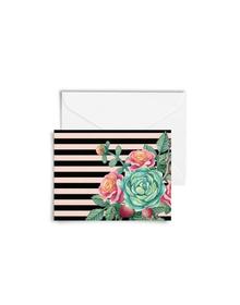 Botanical Love Cards with Envelopes (Set of 6)