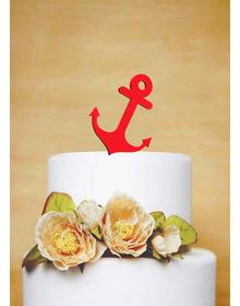 Nautical Anchor - Cake Topper