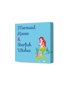 Mermaid Kisses & Starfish Wishes Canvas