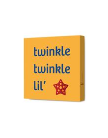 Twinkle Twinkle Lil Starfish Canvas