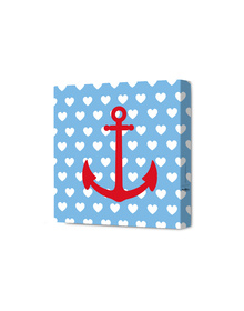 Anchored In Love Canvas