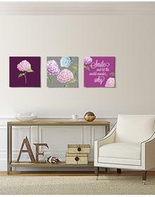Hydrangea Garden Canvas Set