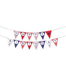 Nautical - Birthday - bunting