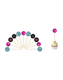 """""""Last Fling before the Ring"""" - Bride to be/ Bachelorette - Cupcake Toppers"""