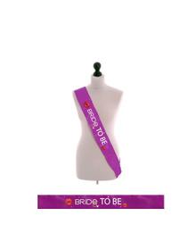 Bride to be - Purple Sash