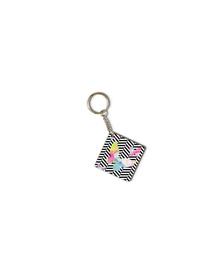 Watercolor butterflies keychain