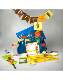 Forest Fiesta- Birthday - Party In A Box