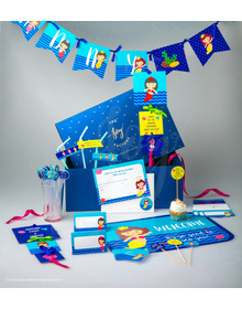 Magical Mermaid- Birthday - Party In A Box