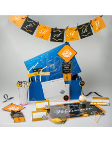 Gold & Black - Anniversary - Party In A Box