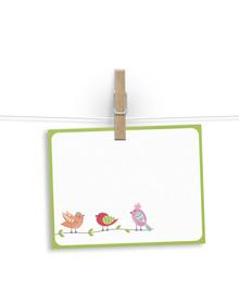 3 lil birdies -  notelets