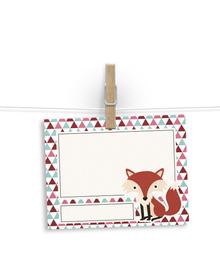 The Foxy fox - notelets