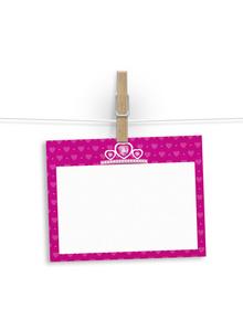 A princess's crown  - notelets