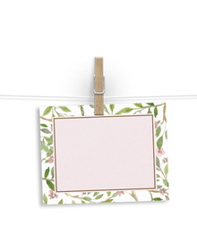 Floral - notelet