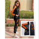 Black and Orange Track Suit-S-1-sm
